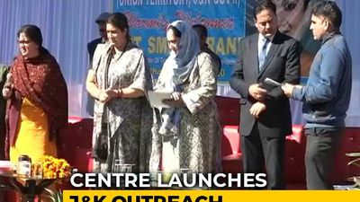 Smriti Irani, Piyush Goyal Continue Centre's J&K Outreach