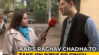 BJP Has No Clear Vision, Agenda For Delhi: AAP's Raghav Chadha To NDTV
