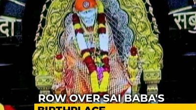 Shirdi Shutdown To Be Called Off, Meeting On Saibaba Birthplace On Monday