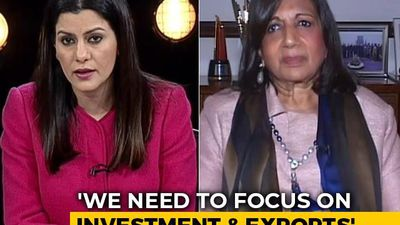 """Not Surprising"", Says Kiran Shaw On IMF Prediction Of India Slowdown"