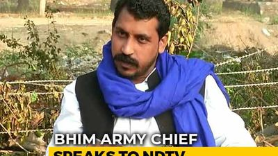"""I'm Against Violence,"" Bhim Army Chief Tells NDTV"