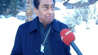 Now, People See An Economy In Distress: Kamal Nath At Davos