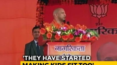 """Where Are The Men?"" Yogi Adityanath's Swipe At Shaheen Bagh Protesters"