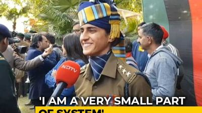 """Takes Courage"": Captain Tania Shergill On Joining Army, Leading Parade"