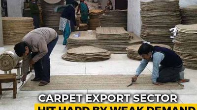 Slowdown Hits High-End Carpet Exports