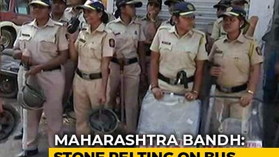 Tepid Reponse To Maharashtra Bandh, Normal Life Unaffected