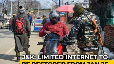 2G Mobile Internet Services To Be Restored In Kashmir With Restrictions