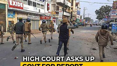 Court Asks Uttar Pradesh For Report On Police Action During CAA Violence