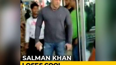 Viral: Salman Snatches Phone From Fan Trying To Take Unauthorized Selfie