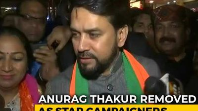Drop Anurag Thakur, Parvesh Verma As BJP Star Campaigners, Says Poll Body