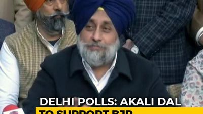 """Misunderstandings"" Resolved, Akali Dal To Support BJP In Delhi Polls"