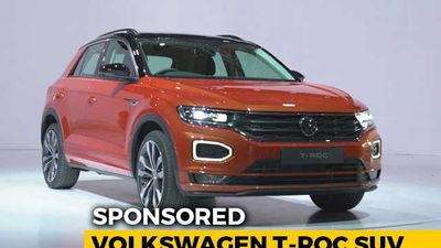 Sponsored: We Tell You What The Volkswagen T-Roc Compact SUV Is All About
