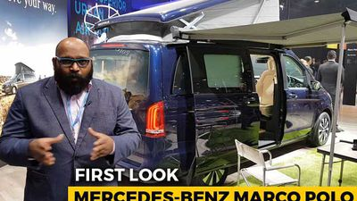 Mercedes-Benz V-Class Marco Polo Launched