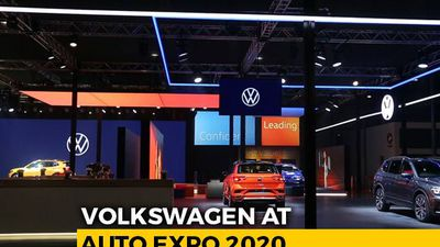 Volkswagen Pavilion At 2020 Auto Expo