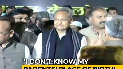 """Don't Know Parents' Birthplace, Will Go To Detention Camp"": Ashok Gehlot"