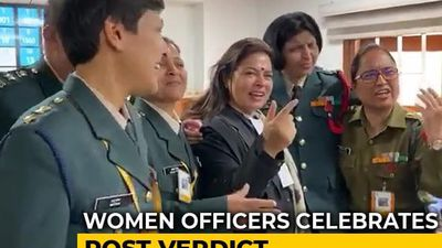 """Sky's The Limit"": Women Army Officers On Victory In Supreme Court"