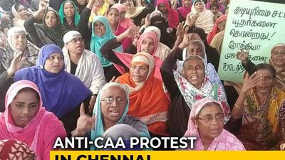 Now, Shaheen Bagh Like Anti-CAA Protest In Chennai