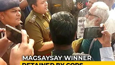 Magsaysay Award Winner Arrested On Way To Anti-CAA March In UP