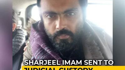 Jamia Violence Case: Sharjeel Imam In Judicial Custody