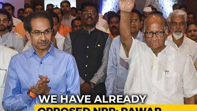 Sharad Pawar On Differences With Sena Over Population Register, CAA