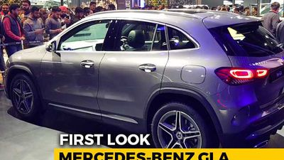 Mercedes-Benz GLA First Look