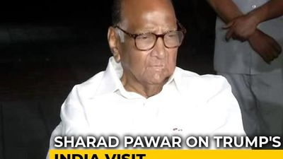 Sharad Pawar's Dig At Ahmedabad's Slum-Hiding Wall For Donald Trump Visit