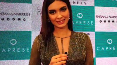Diana Penty On Being The Showstopper For Shivan And Narresh At Lakme Fashion Week