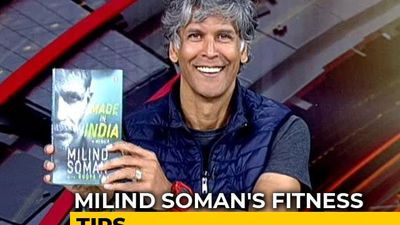 Model, Fitness Icon And Now A Writer - Meet Milind Soman In His New Role