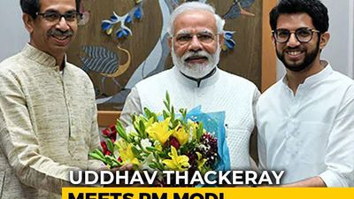 Amid Strain With Allies, Uddhav Thackeray Meets PM Modi In Delhi