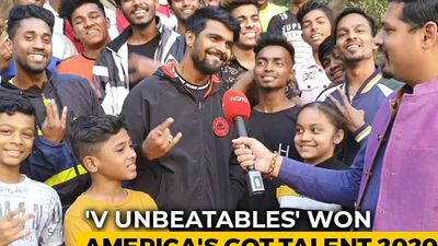 Story Of 'V Unbeatable': From Mumbai Slums To World Stage