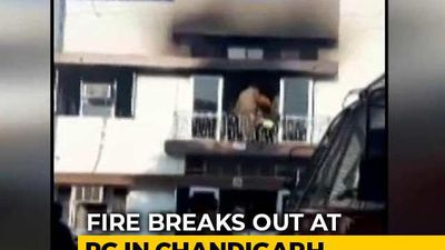 3 Students Dead After Massive Fire In Chandigarh Residential Building