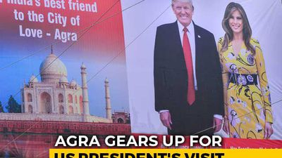"Donald Trump To Be Gifted ""Key Of Agra"" Made Of Silver During Taj Visit"