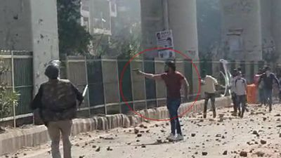 On Camera, Delhi Man Opens Fire As Cops Watch In Clashes Over CAA