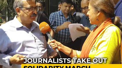 Bengaluru Journalists' Solidarity With Delhi Reporters