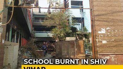 Delhi Violence: School Burnt, Blackboards Smashed, Furniture Set On Fire