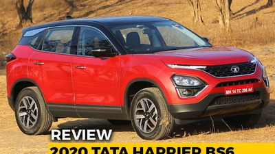 2020 Tata Harrier BS6