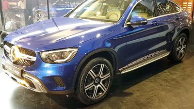 2020 Mercedes Benz GLC Coupe First Look