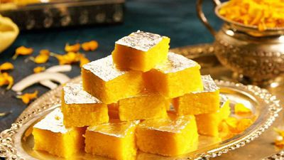 How To Make Mango Coconut Barfi