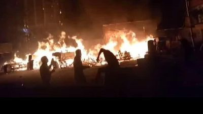 Fire At Furniture Market In Delhi's Shaheen Bagh, 4 Fire Trucks At Site