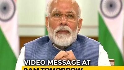 "PM Modi Says Will Share Video Message ""With Fellow Indians"" At 9 am Tomorrow"