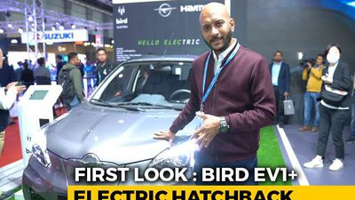 Bird EV1+ Electric Hatchback First Look