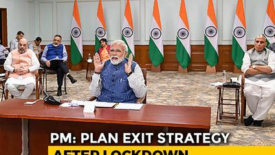 PM Modi Holds Video Conference With Chief Ministers