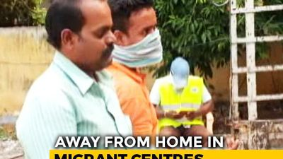 Migrants Stuck In Hyderabad Shelter Home Distributed Food, Sports Items