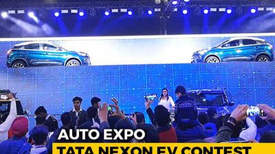Tata Nexon EV Contest At 2020 Auto Expo