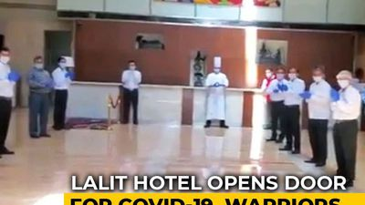 Watch: 5-Star Hotel Staff's Big Welcome For Doctors Fighting COVID-19