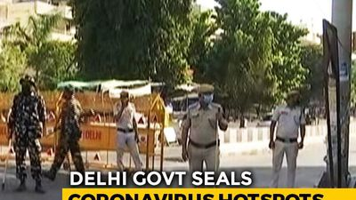 20 Coronavirus Hotspots Sealed In Delhi, Masks Made Compulsory