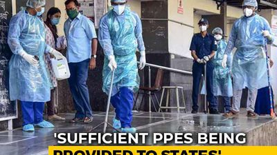 """Ordered 1.7 Lakh Protection Kits, 49,000 Ventilators"": Health Ministry"