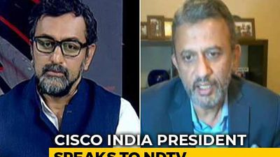 CISCO India President Talks About How Tech Companies Are Tackling COVID-19