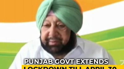 Punjab Becomes Second State To Extend COVID-19 Lockdown Till April 30