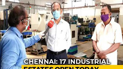 17 Industrial Estates Reopen In Chennai